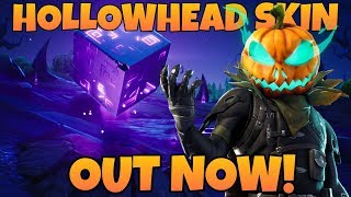 Hollowhead Skin Out Now! Top Fortnite Player Returns! Road to 2k Subs!