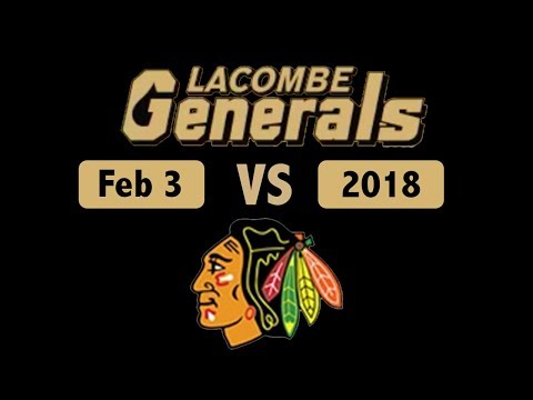 Lacombe Generals vs Fort Sask -  Feb 3, 2018