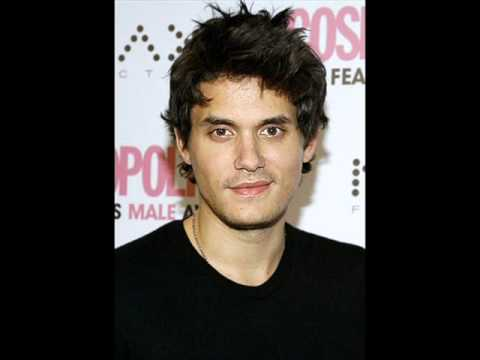 John Mayer - Covered in rain.