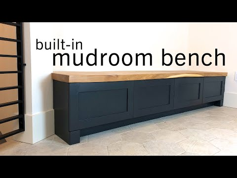 built-in-mudroom-bench-w/-drawers-&-slab-top