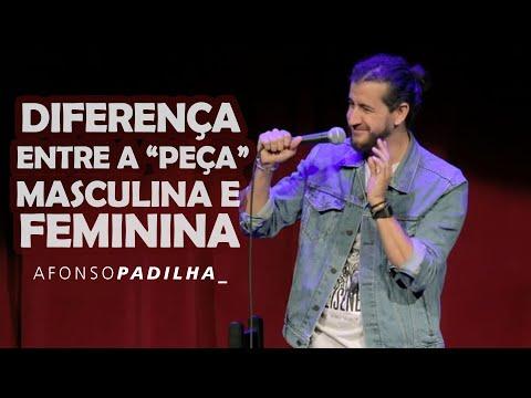 AFONSO PADILHA - A DIFERENÇA DA PEÇA DO HOMEM X DA MULHER