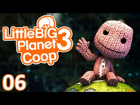 Little Big Planet 3 | Ep.06 - Let's Play Coop