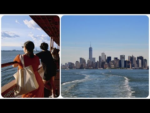 A Ride On The Staten Island Ferry New York City 2017