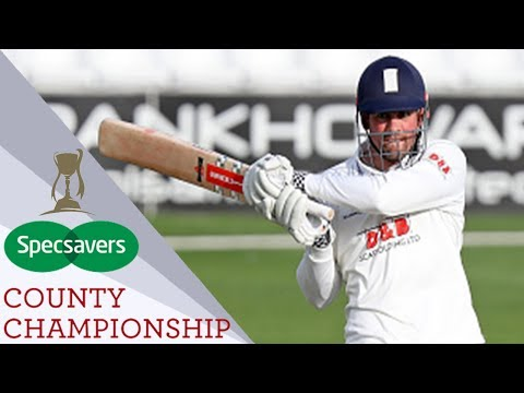 Cook Scores Ton As Essex Thrash Hampshire In Just Three Days - Specsavers County Championship 2017