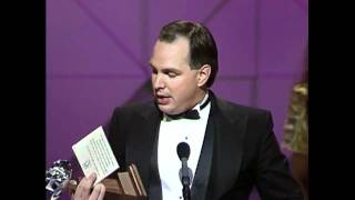 """Garth Brooks Wins Song of the Year For """"The Dance"""" - ACM Awards 1991"""