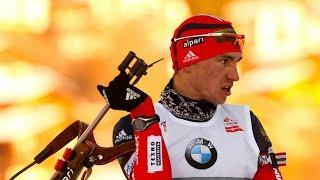 Александр Логинов выиграл бронзу на Кубке мира по биатлону в Поклюке