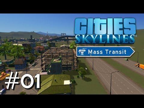 CITIES SKYLINES: Mass Transit #01: Eine neue Stadt entsteht [Let's Play][Gameplay][German][Deutsch]