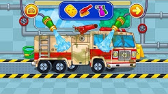 Car Wash Game For Kids - Monster Truck | YOVO games for KIDS | Games From YOVO Games