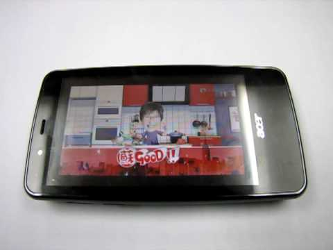 HKPUG Acer F900 Video Playback