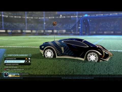Rocket League® 20XX White Endo White Roulette