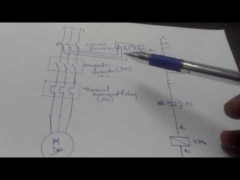 Single Phase Preventer Circuit Diagram | Single Phase Preventer Circuit Diagram