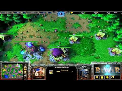 Yumiko (HU) Vs EnTeee (UD) - Game 1 - WarCraft 3 Gameplay - RN42