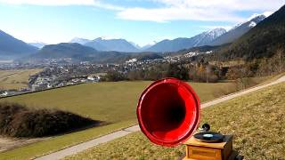 Justav, erobere nischt - Ernst Busch - Propaganda Rede Grammophon 78 rpm