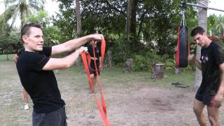 Chain and Rope fighting with Rick Tew at NinjaGym Camp Thailand.MTS
