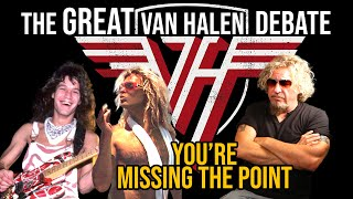 The aftermath of original van halen lineup is compelling eddie, sammy and co hit #1 with 5150 diamond dave recruited young virtuoso steve vai for the...