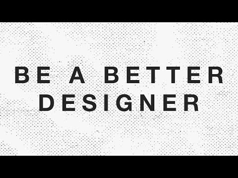 How to be a Better Graphic Designer