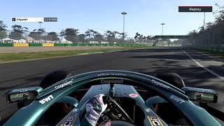 F1 2021 Australia Hotlap (1:19.261)