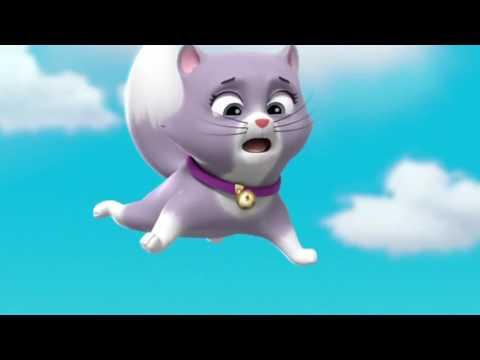 Paw Patrol - Pups Save the Cat Show - Skye Saves the Kitten
