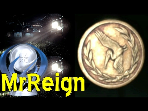 RESIDENT EVIL 7 - ALL 33 MADHOUSE ANTIQUE COINS - MAD PELICANS - TROPHY ACHIEVEMENT