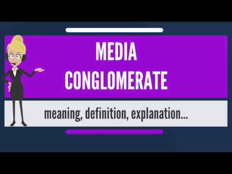 What is MEDIA CONGLOMERATE? What does MEDIA CONGLOMERATE mean? MEDIA CONGLOMERATE meaning
