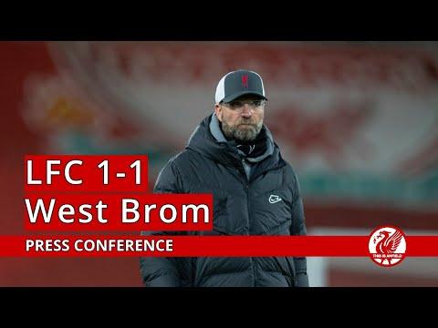 Liverpool 1-1 West Brom | Jurgen Klopp Press Conference