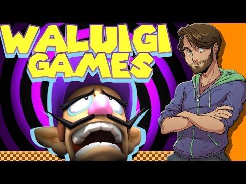 WALUIGI GAMES - SpaceHamster