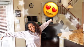 FINALLY OUR FURNISHED HOUSE TOUR!!!!