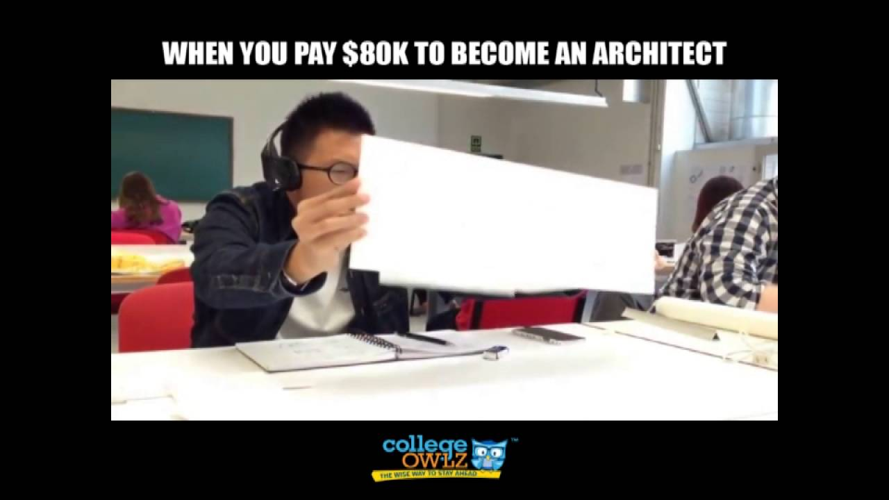 When You Pay 80k To Become An Architect