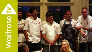 Cricket stars battle it out in Chance to Dine 2014 - Waitrose