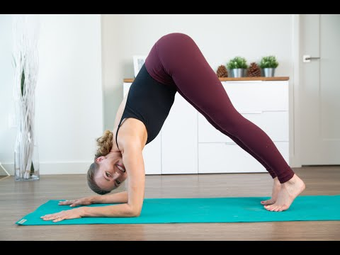 Slow Flow Yoga Sequence With Core Strength Exercises