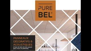 PUREBEL, Panneaux décoratifs et acoustiques