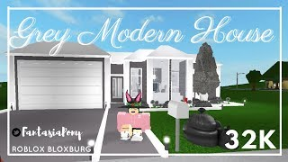 ROBLOX || Grey Modern House || One Story || Bloxburg