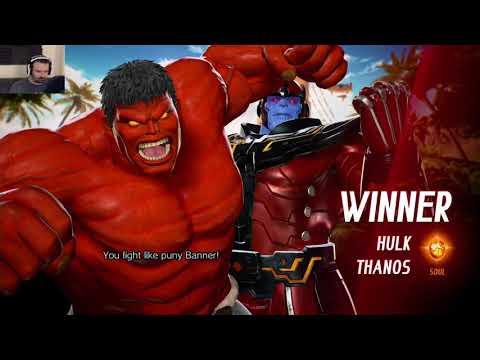 Marvel vs. Capcom Launch MP pt43 - vs. Jedah/Ultron - 동영상