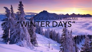 """Winter Days"" ~ Drum & Bass Mix 2015"