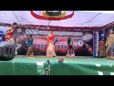 SSN COLLEGE Dance of pooja