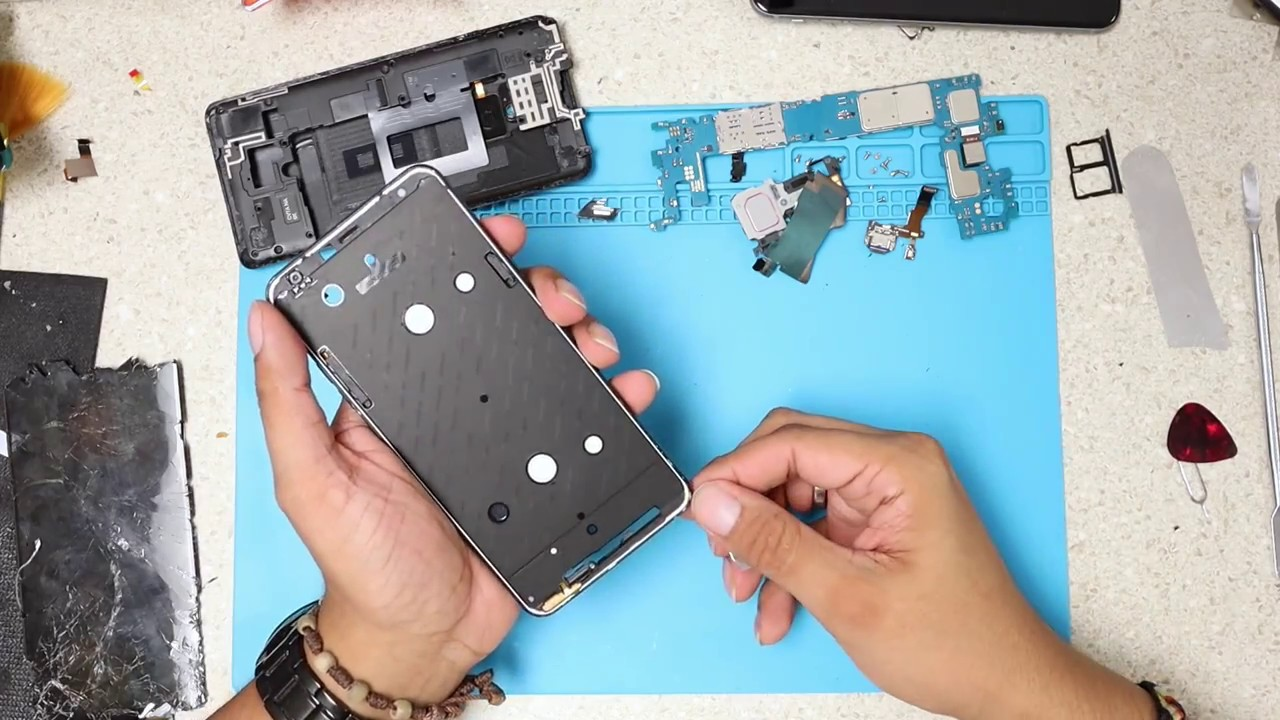 LG Stylo 4 - How To Take Apart - Glass Screen Repair - LCD