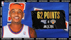 Melo Sets Knicks & MSG Record With 62-PT Game | #NBATogetherLive Classic Game