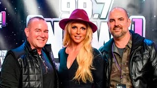 Britney Spears - 99.7 [NOW!] Interview at the 2016 Triple Ho Show Backstage