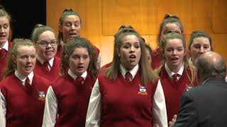 The Big Sing 2017 Session 02 Dunstanza Senior Girls   Deo Gracias from Ceremony of Carols, Benjamin