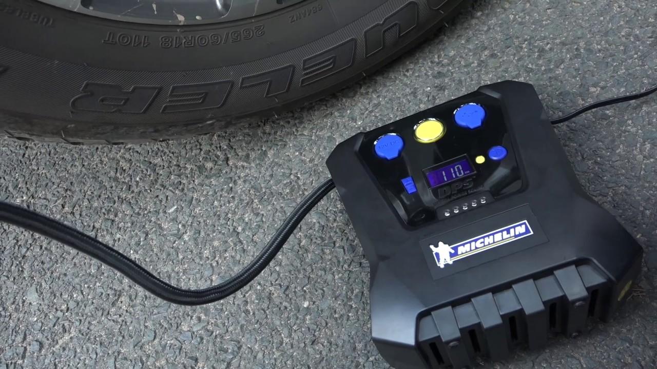 Xe.Tinhte.vn | Trên tay bơm bánh xe Michelin, bơm chậm, đồng hồ áp suất sai số nhiều