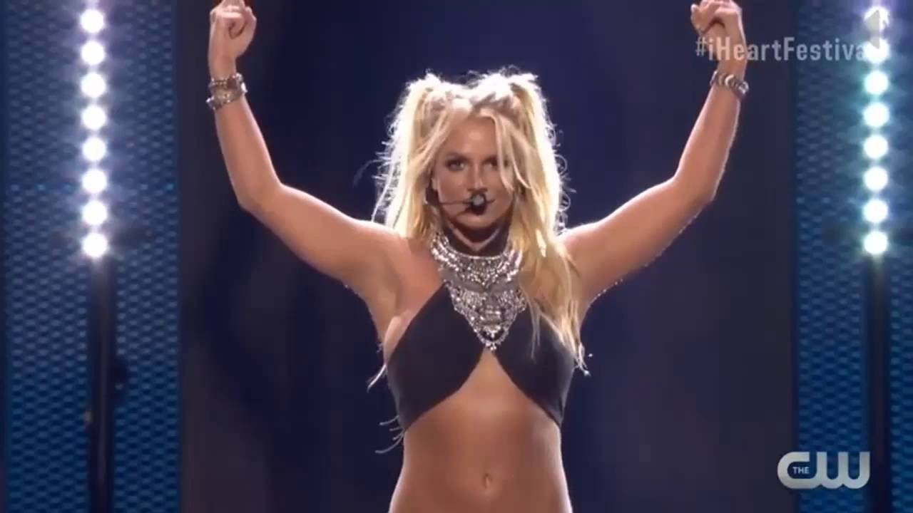 Britney Spears - Work B**ch (Live at iHeartRadio Music ... Britney Spears Toxic