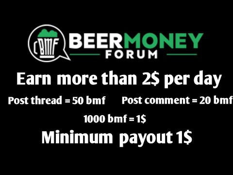 Earn with Beermoneyforum