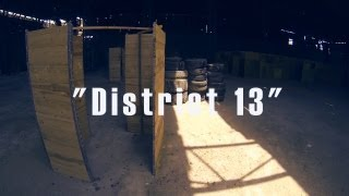 """Paintball ARENA """"District 13"""""""