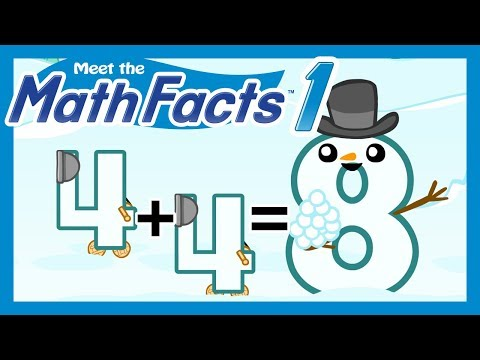 Meet the Math Facts Addition & Subtraction - 4 + 4 = 8