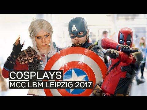 EPIC Cosplays - MangaComicCon LBM/MMC Leipzig 2017 (Leipziger Buchmesse)