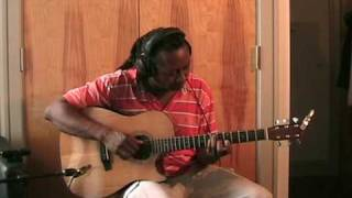 "Cyndi Lauper Miles Davis ""Time After Time,"" Ron Jackson Solo Fingerstyle Acoustic Guitar Cover"