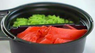 видео упаковка для суши