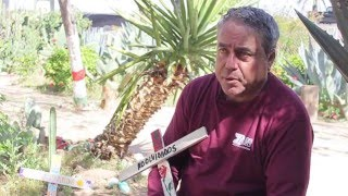 From youtube.com: Enrique Morones and the need for Angels at the Border {MID-297983}