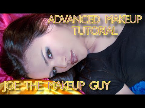 Learning how to apply advanced Eye Shadow and lip application, with the art of blending.