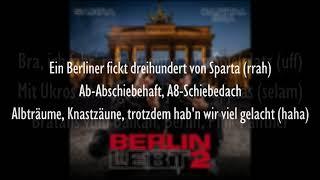 CAPITAL BRA & SAMRA - BERLIN LEBT WIE NIE ZUVOR (Official HQ Lyrics) (Text)